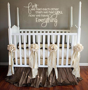Nursery Wall Quotes | Baby Girl & Baby Boy Quotes