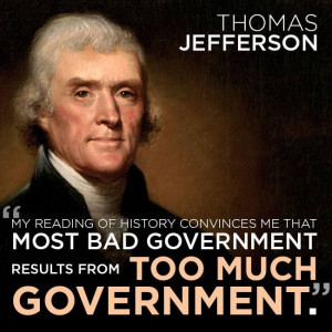 Thomas Jefferson had the right idea!
