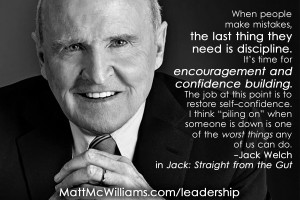 Jack Welch Quote on Confidence