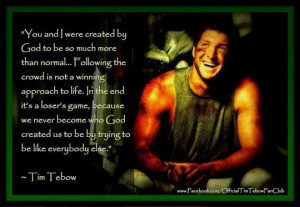 Tim Tebow Quotes About Faith Tim tebow i love this image