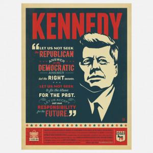 President Kennedy Quote 18x24 | Ligia Teodosiu & Joel Anderson