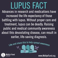 Lupus Awareness / Molly's Fund Fighting Lupus / Advances in research ...