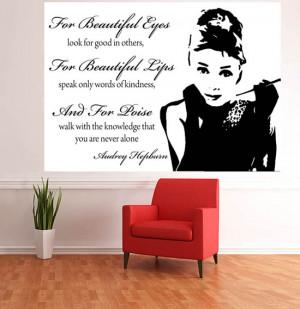 wm9 audrey hepburn quotes photo wallpaper mural audrey hepburn film