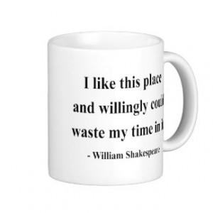 Shakespeare Quote 6a Classic White Coffee Mug