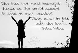 , is Better Speech and Hearing Month. This famous Helen Keller quote ...