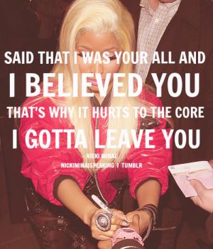 Quote Text Love Quotes Nicki Minaj