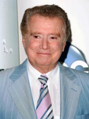 regis philbin announced today on live with regis and kelly that he ...