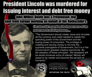 ABRAHAM LINCOLN VS ROTHSCHILD BANKERS