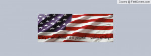 American flag quote Profile Facebook Covers