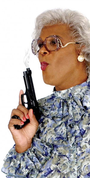 Hallelu-yer! Fictional Agent Friday. MADEA in da House!