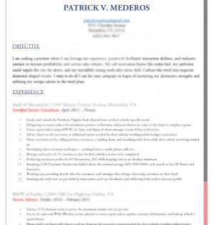 Objective quotes for a resume