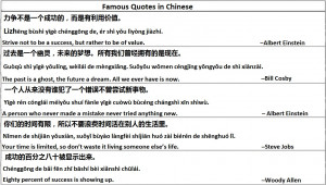 ... at 9:23 am Tagged with: Chinese Quotes , Famous Chinese Quotes