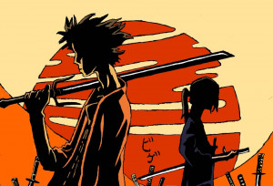 """Samurai Champloo, which invented the genre of """"Hip Hop Anime."""")"""
