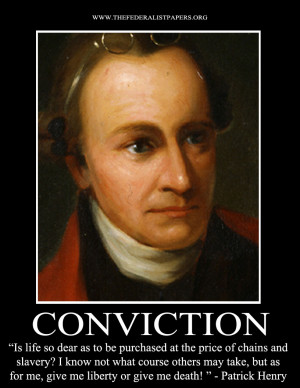 Patrick Henry Poster, Give Me Liberty or Give Me Death