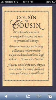 Cousins Quote Canvas Going...
