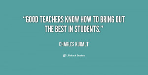 Quotes About Good Teachers