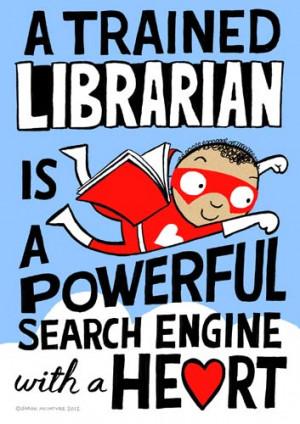 Dozen Red Reasons We Love Libraries