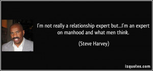 Steve Harvey Quotes About Men