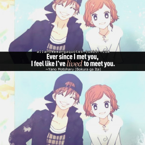 source anime quotes to live by