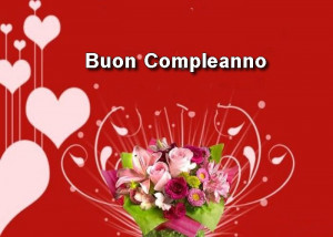 Free download Happy Birthday in Italian picture image and share it ...