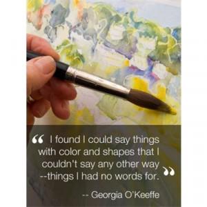 Georgia O'Keeffe~