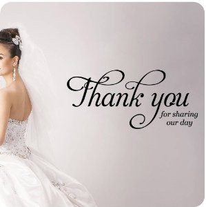 Wedding Day Quotes Thank You