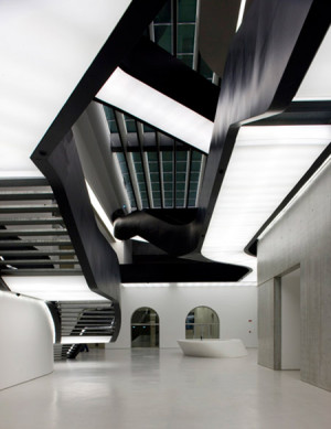 Zaha Hadid won RIBA Stirling Prize: MAXXI Museum @ Rome ...