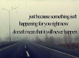 Don't Give Up Hope . . . .