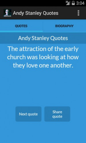 View bigger - Andy Stanley Quotes for Android screenshot