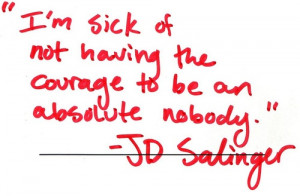 ... inside of Salinger's mind: Extractions from The Catcher in the Rye
