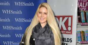 Heidi Montag Loves Assault Rifles, Thinks She Has Fans