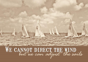 Catch The Wind Quote Photograph