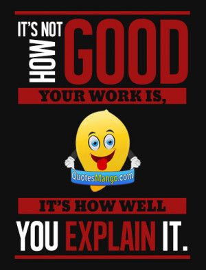 good work quote image