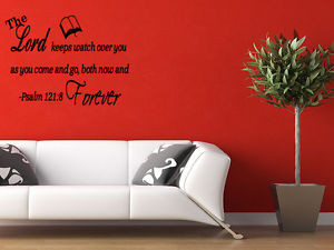 THE-LORD-KEEPS-WATCH-OVER-YOU-Vinyl-Word-Quote-Wall-Decal-Bible-Words ...