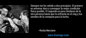 Frase de Olvido de Rocky Marciano 83701