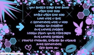 Myspace Graphics > Quotes > life goes on 2 Graphic