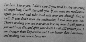 love death quote depressed depression suicidal suicide Typography ...