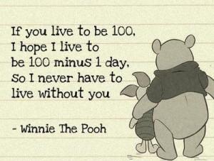 love Winnie The Pooh.