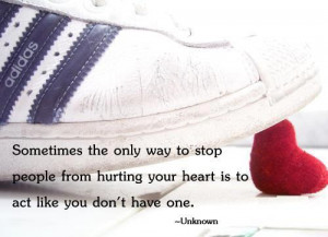 Hurting Your Heart