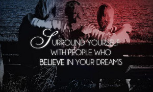 ... Believe in your Dreams – Follow your Dreams –Dream – Quotes