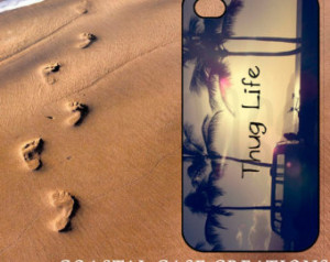 ... Phone Case Cover Original Trendy Stylish Thug Life Beach Quote Design