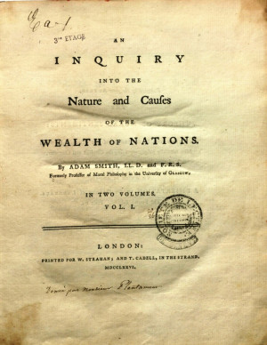 Adam Smith Wealth Of Nations Wealth of nations adam smith