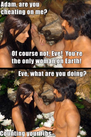 funny adam and eve