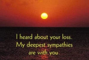 great sympathy quotes pictures