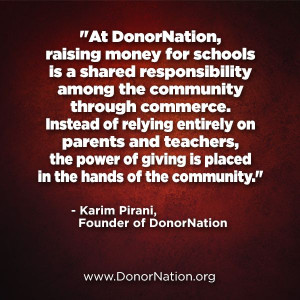 Fundraising #quotes @donornation #KarimPirani #community # ...