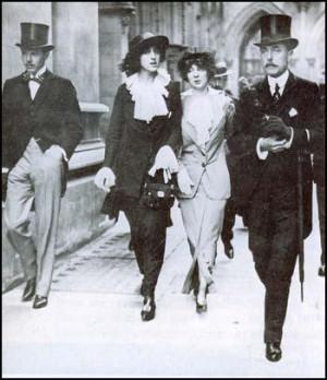 Harold Nicholson, Vita Sackville-West, Rosamund Grosvenorand Lionel ...