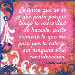 Frida Kahlo: Sus Palabras