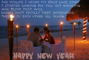 Happy New Year Wishes Quotes for Husband