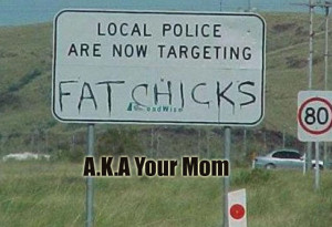 Your Mamma's So Fat Jokes (9 Pics)