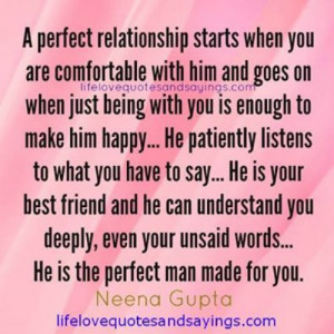 quotes and sayings about being happy with him